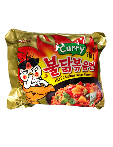 <b>SAMYANG</b><br>Hot Chicken Flavor Ramen (Curry) 1-pack