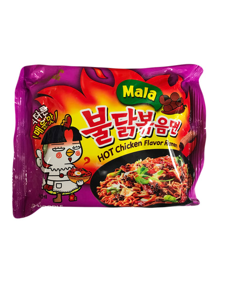 <b>SAMYANG</b><br>Hot Chicken Flavor Ramen (Mala) 1-pack
