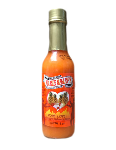 <b>MARIE SHARP'S</b><br>Pure Love Pineapple Habanero Pepper Sauce