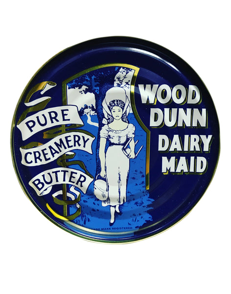 <b>WOOD DUNN DAIRY MAID</b<br>Pure Creamery Butter