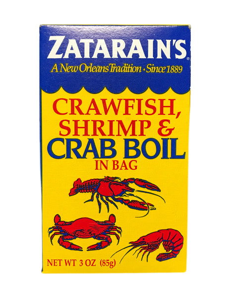 <b>ZATARAIN'S</b><br> Crawfish, Shrimp & Crab Boil in a Bag