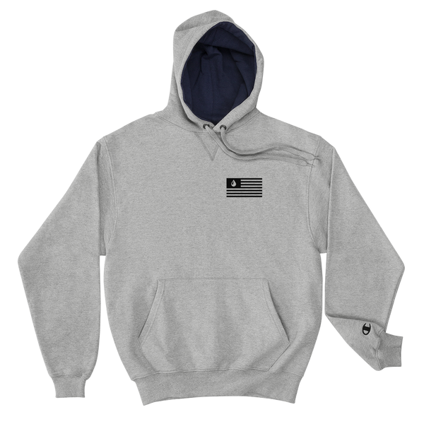 The Coordinates Champion Hoodie (Grey)