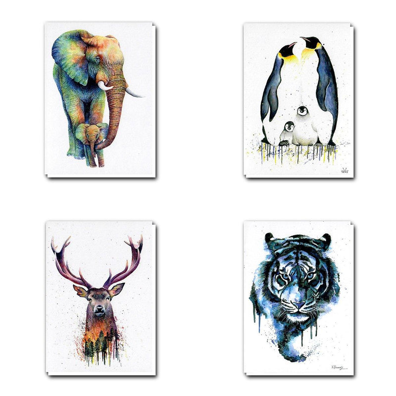 Colors Of The Wild Greetings Cards
