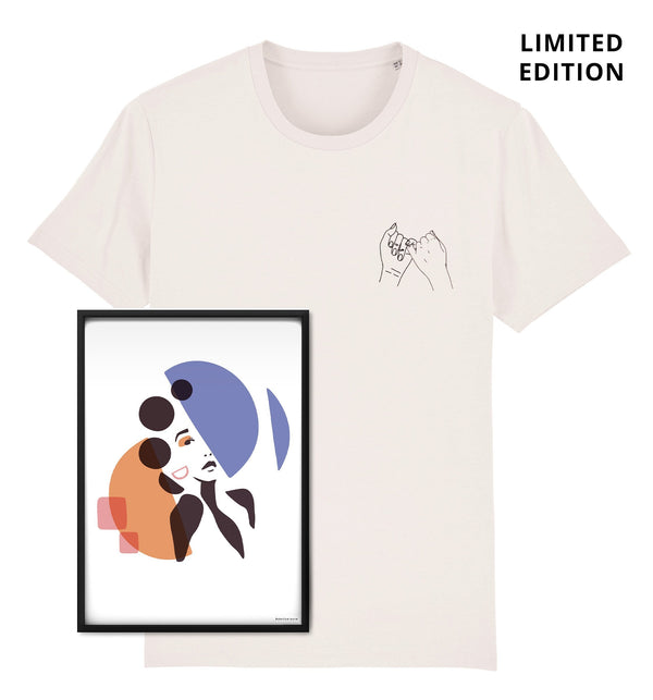 BLM Charity T-shirt & Art Print