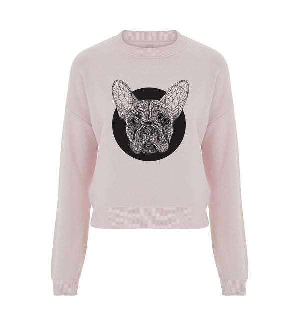 Frenchie Crop Sweatshirt
