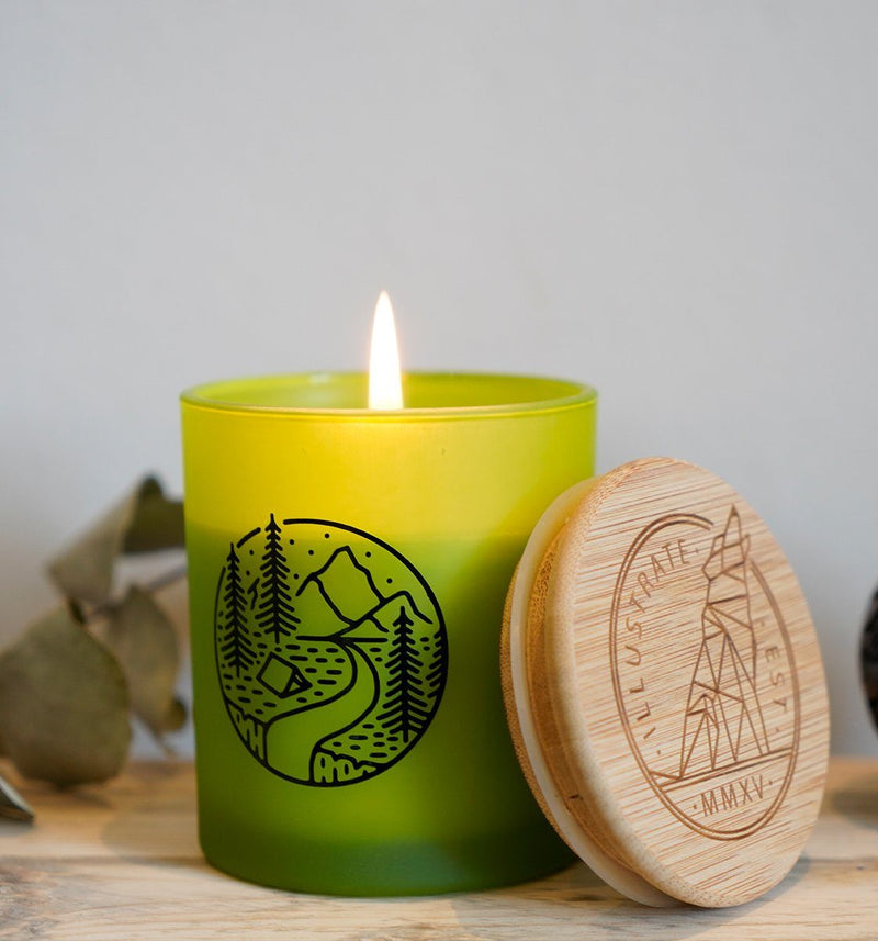 Pine Balsam Scented Candle