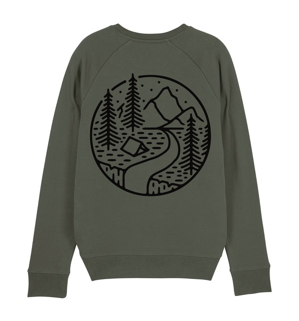Into The Wilderness Organic Sweatshirt