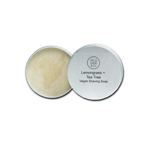 Lemongrass & Tea Tree Shaving Soap