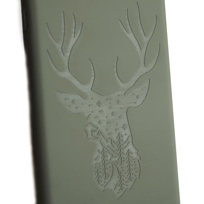 Night Stag Silicone - iPhone / Samsung
