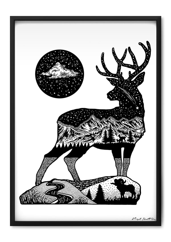 The Stag & The Shooting Star