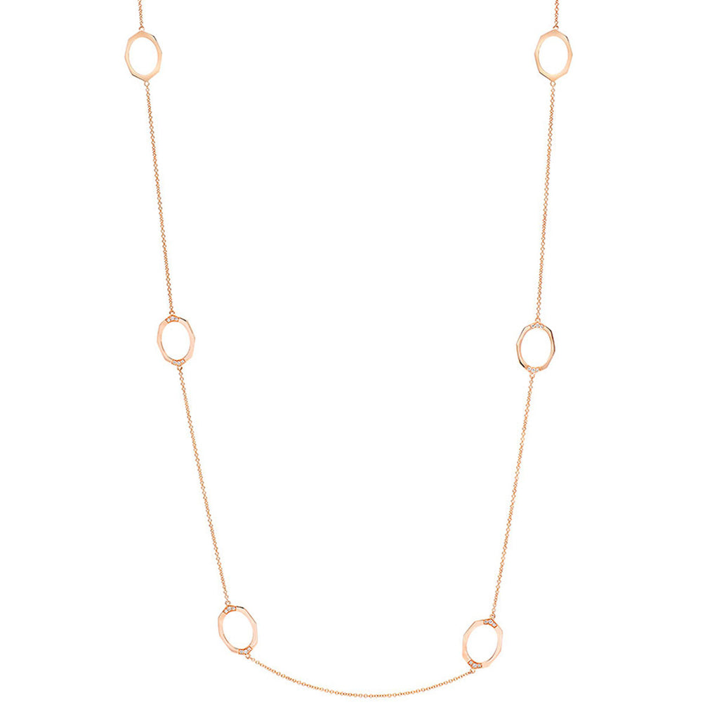 Affinity Sans Diamond Necklace in 18k Gold Jewelry - Irthly