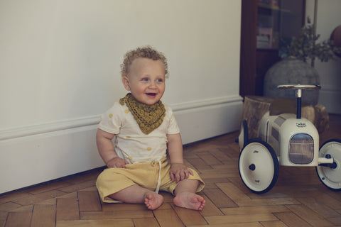 cotton dribble bib