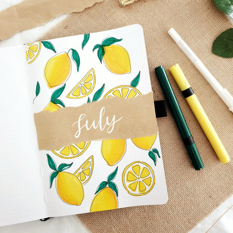 How To: Lemon Theme + 5 Fun Tropical Themes For The Summer!