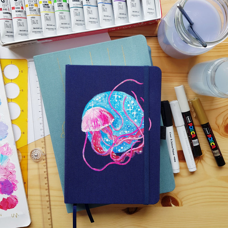 Painting On Your Journal Covers