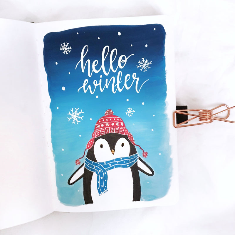 How To: Penguin Illustration
