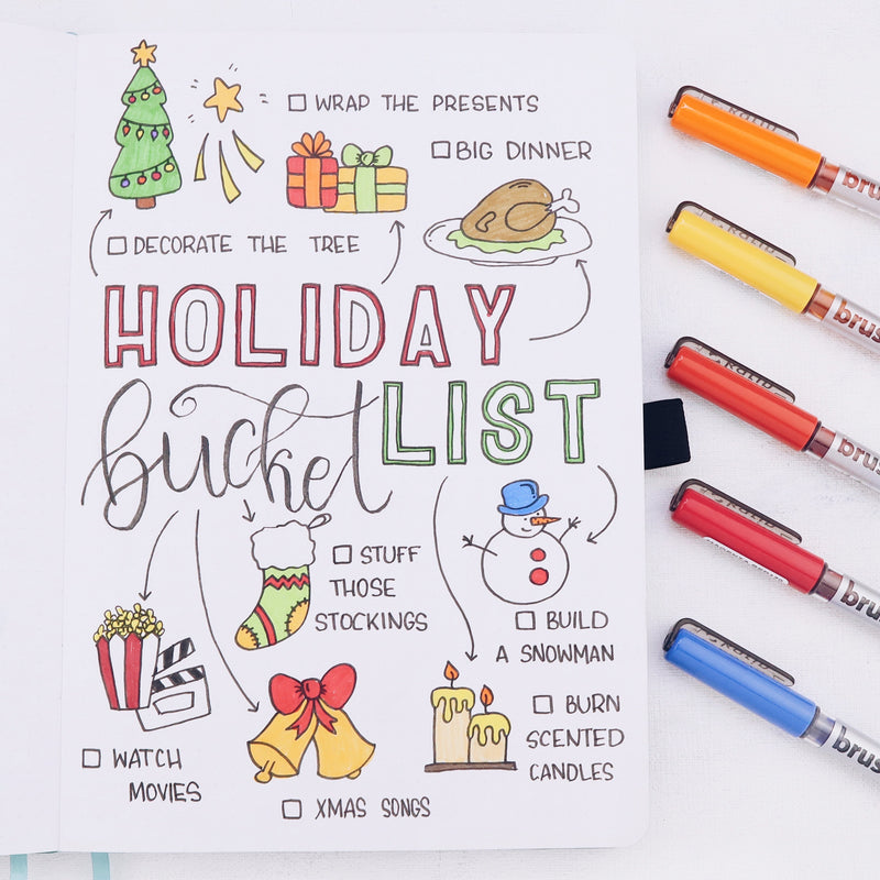 How To Create A Holiday Bucket List