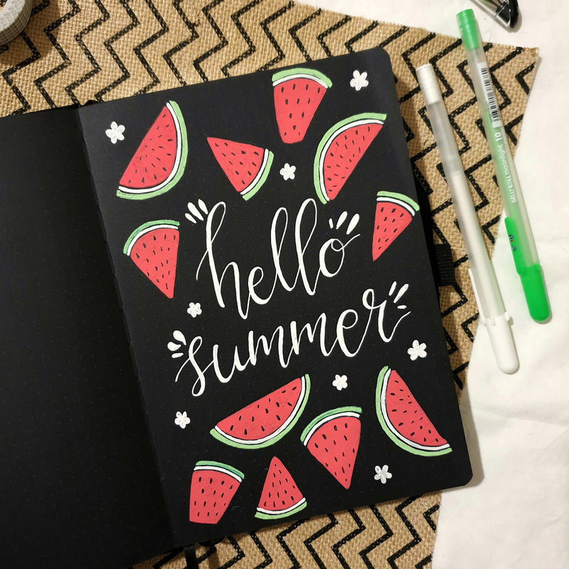 Welcoming Summer With The Blackout Journal!