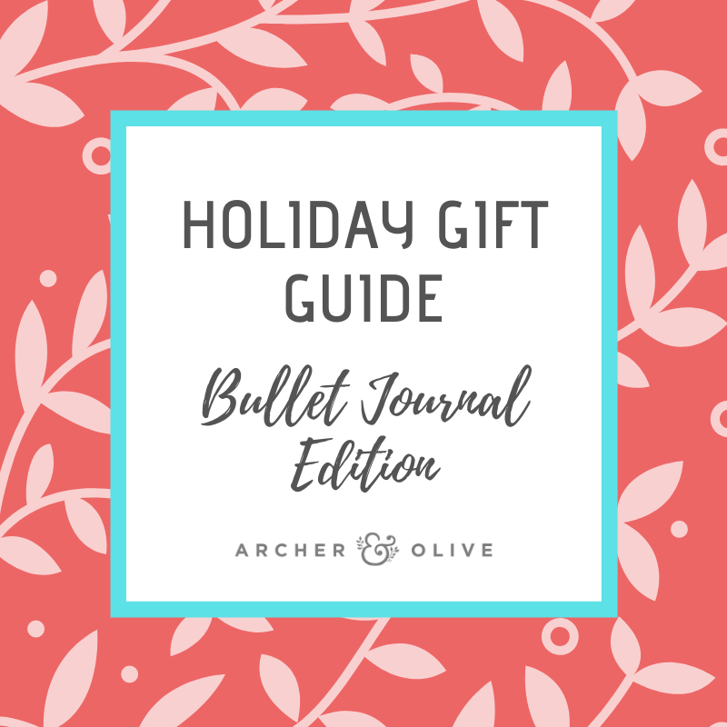 Holiday Journaling Gift Guide! + Free Printable Gift Tags