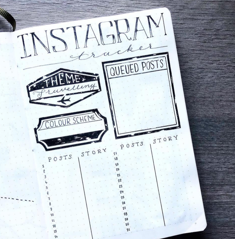 How To Use Your Bullet Journal To Improve Your Instagram Game