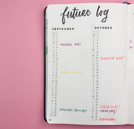 Tips to Creating your perfect future log!