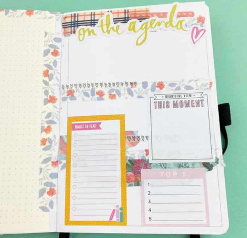 The Stress free way to starting your planner mid-month