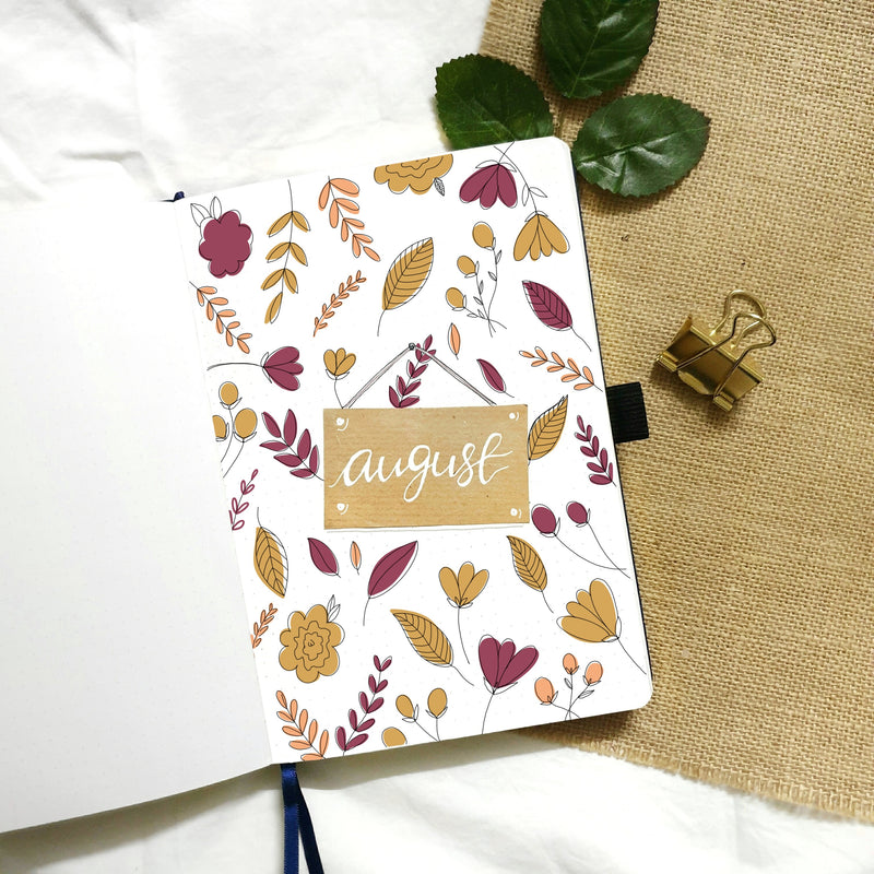 7 Creative Ways To Use Kraft Paper In Your Bullet Journal