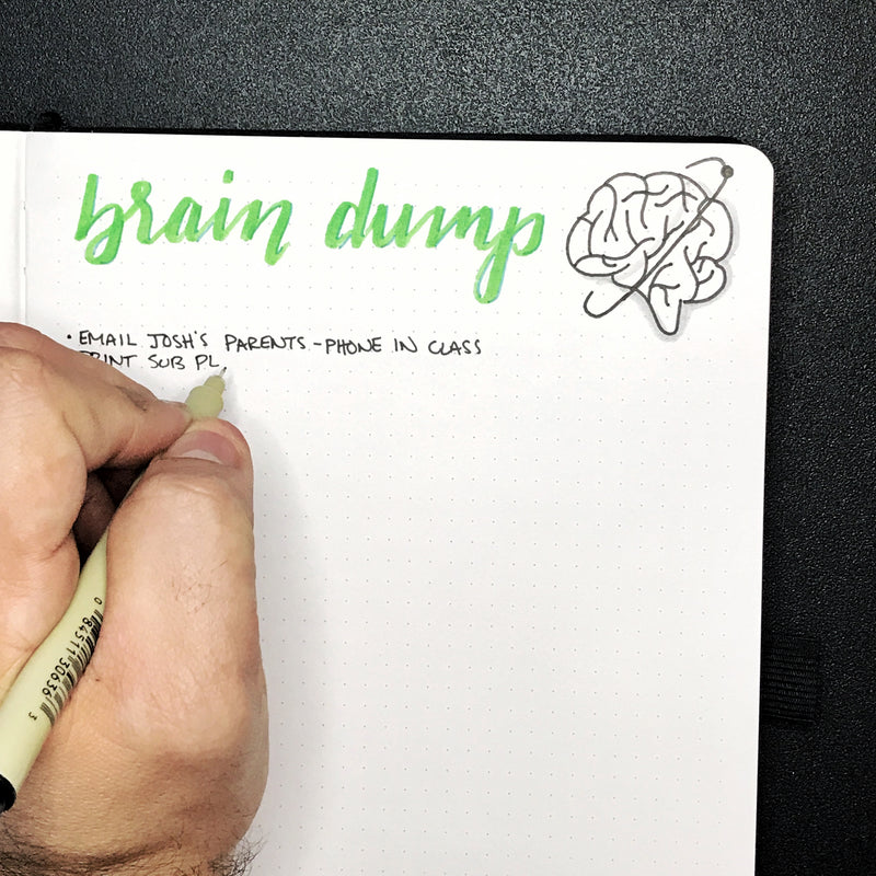 A Teachers Brain Dump