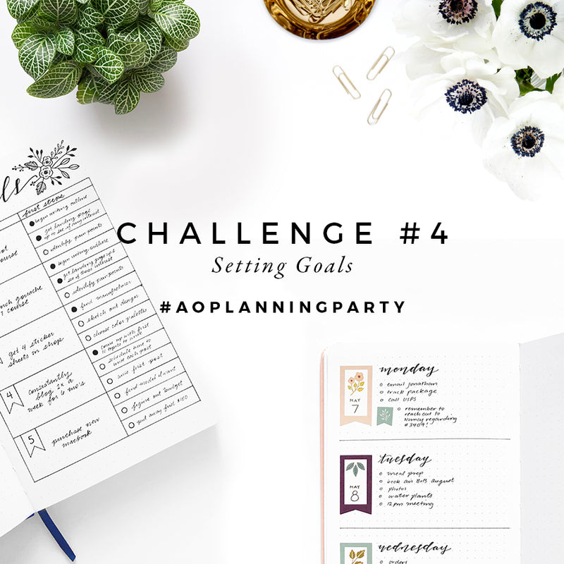 Week 4 - #AOPlanningParty