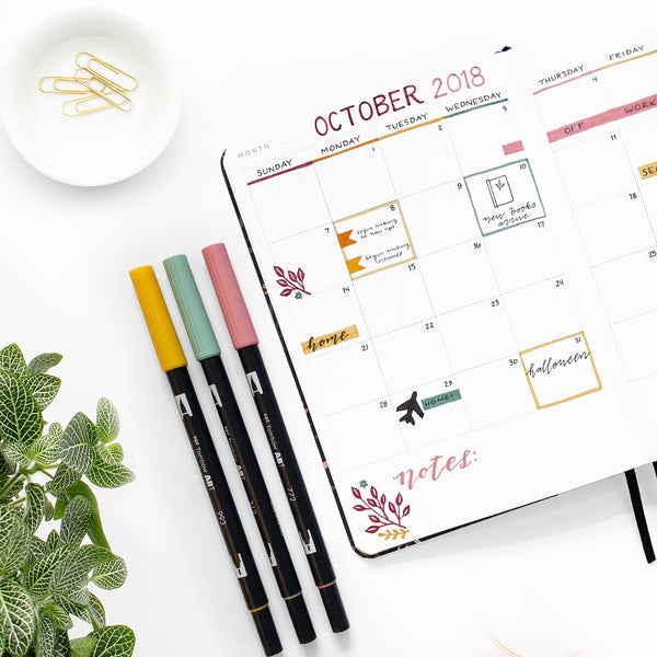 Get organized AND creative with our new Undated Personal Planners!