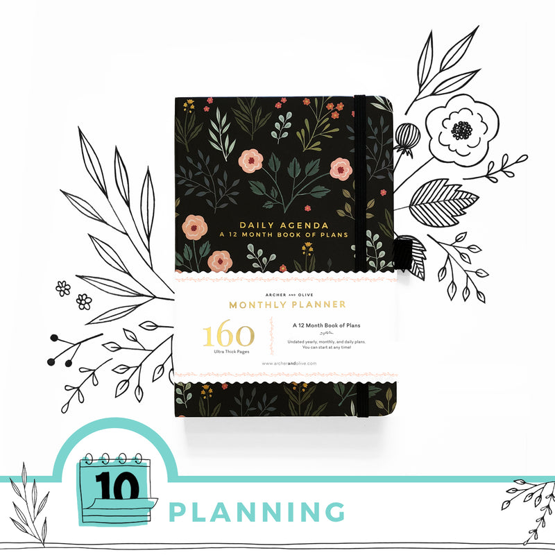 5 Clever Ways to make your Undated Planner your Own
