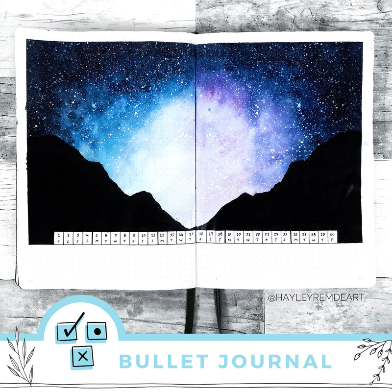 Five Ways To Incorporate A Celestial Theme Into Your Journal This Month