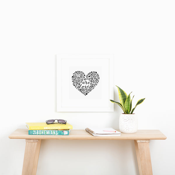 Freebie Friday - You are loved print
