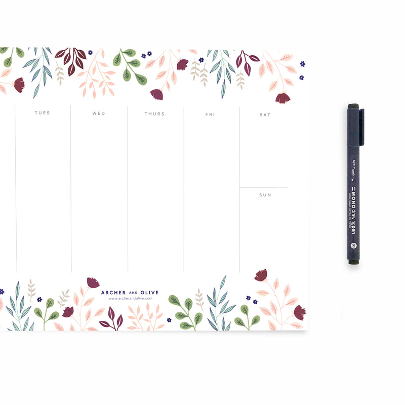 Freebie Friday - Weekly Planner