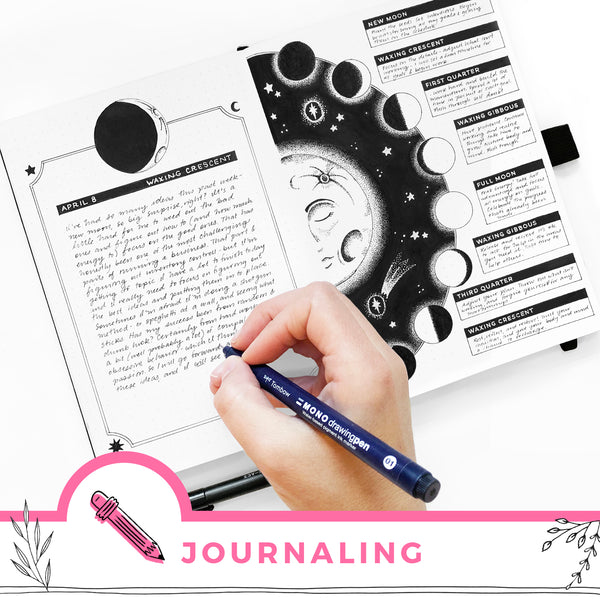 Guided Journaling Exercises for Each Phase of the Moon