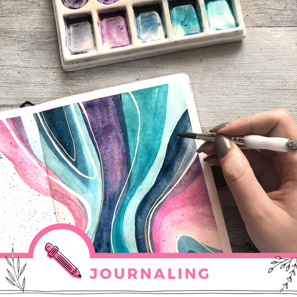 Six Tips For Using Watercolour In Your Journal
