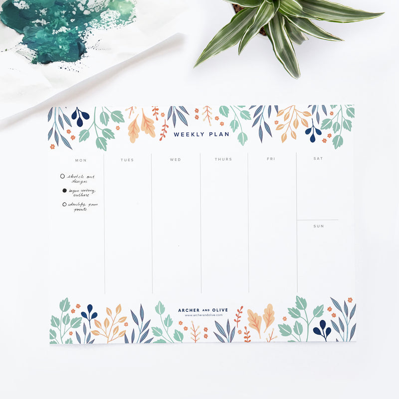 Freebie Friday - Weekly Plan