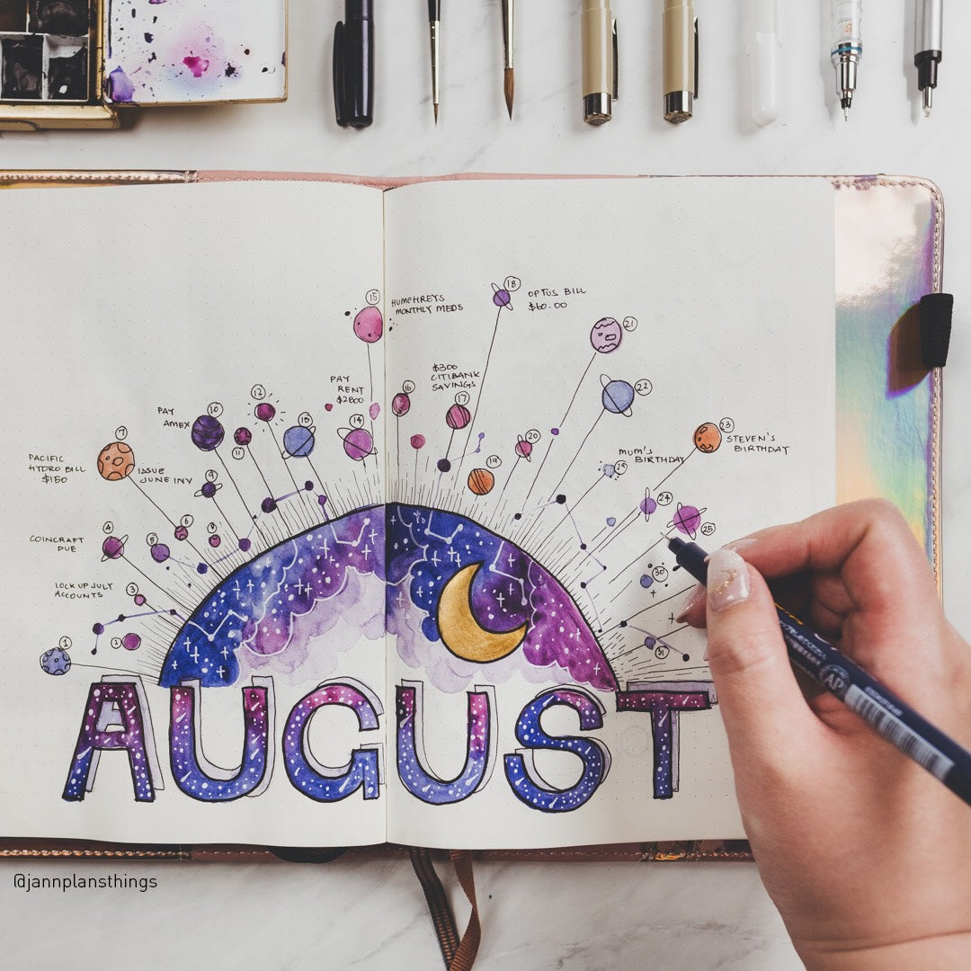 Jannette Monthly Spread