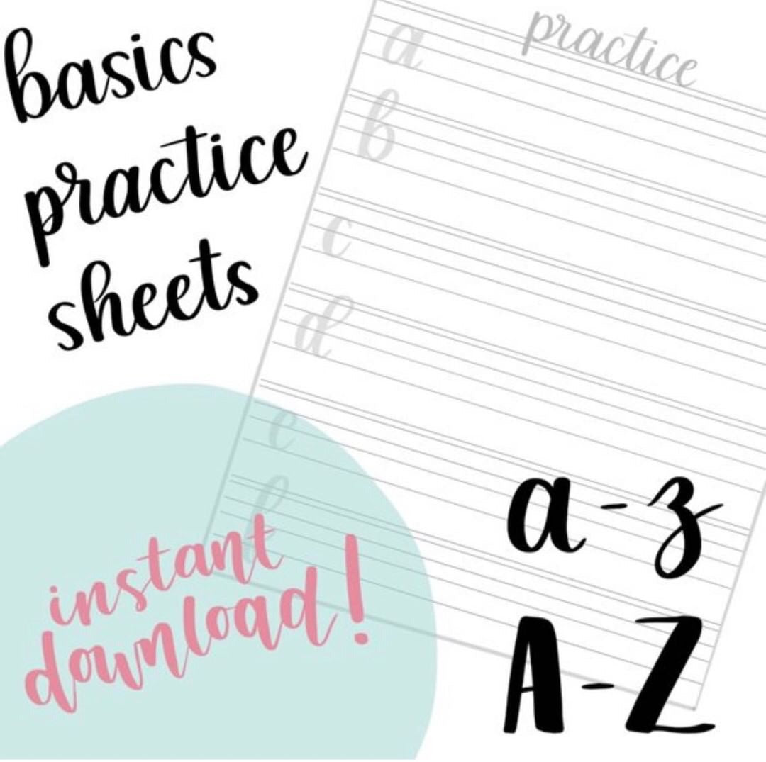 Basic Practice Sheets - ErinFlotoDesigns