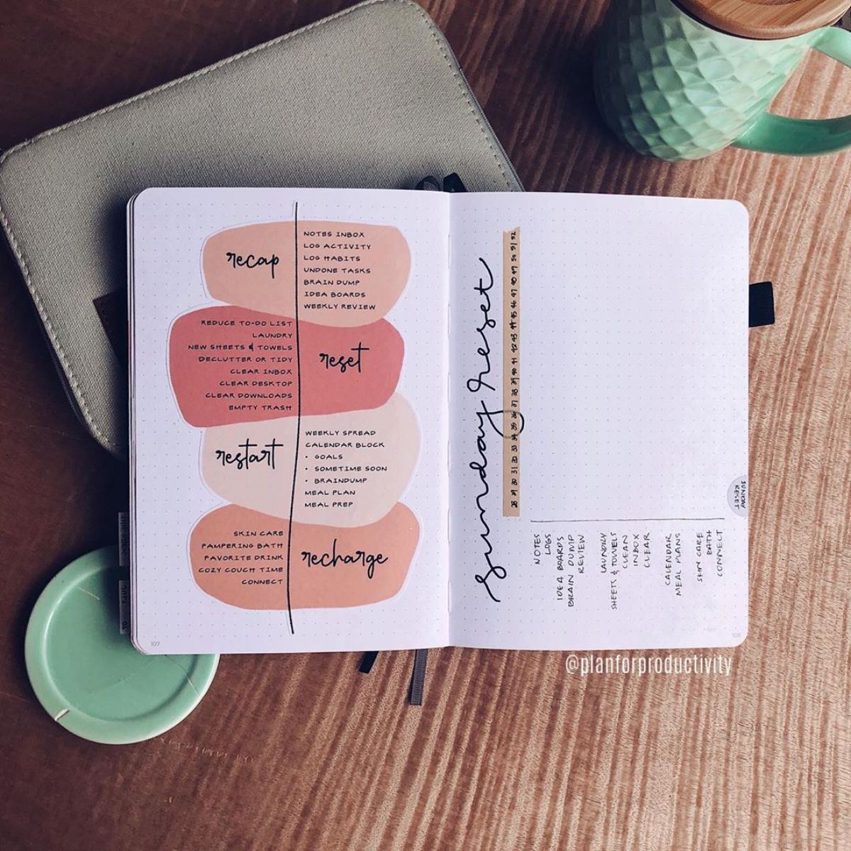 Self Care Bullet Journal