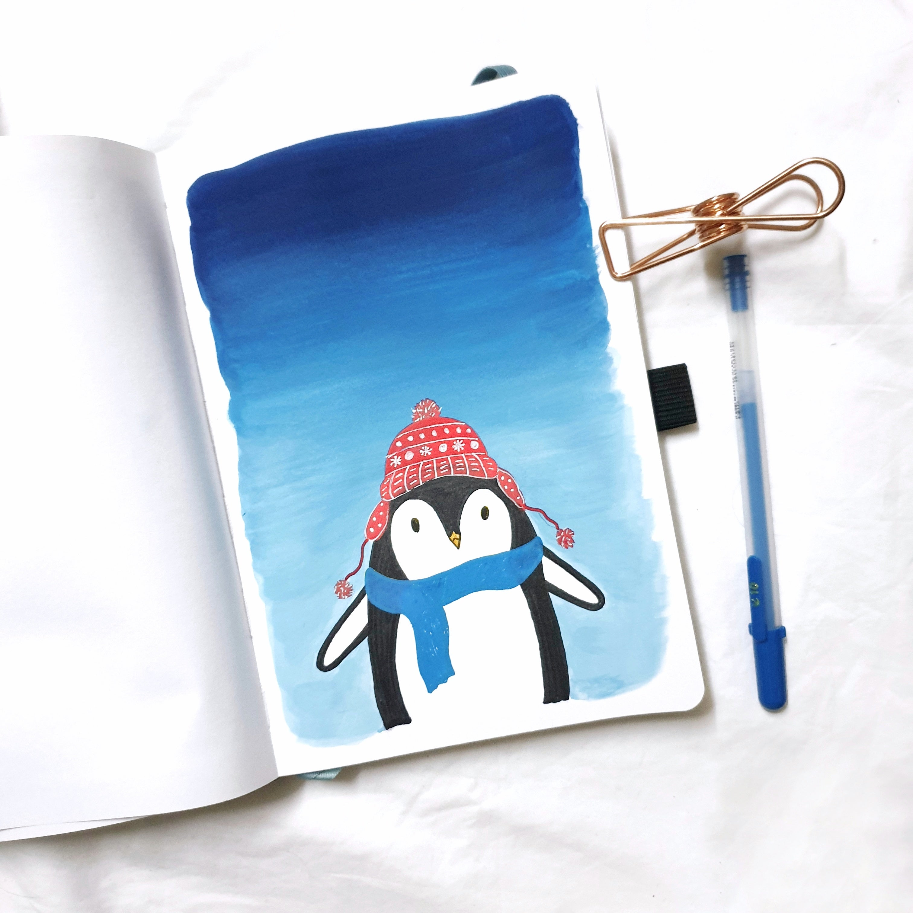 Penguin Illustration Tutorial