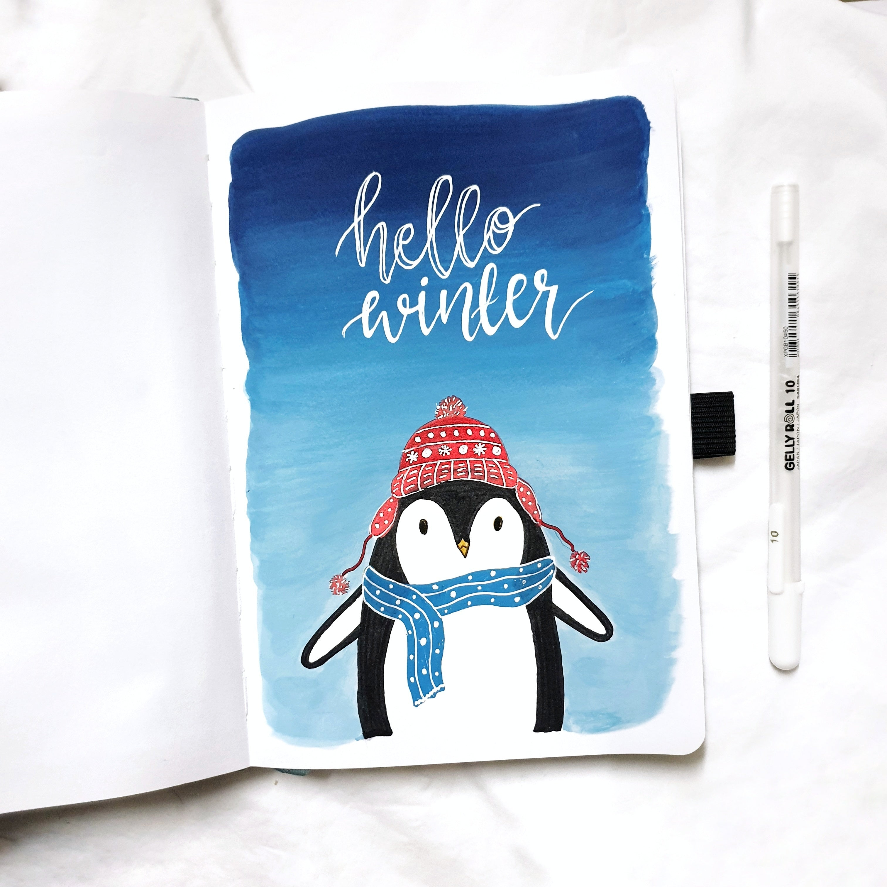 Penguin Tutorial Illustration