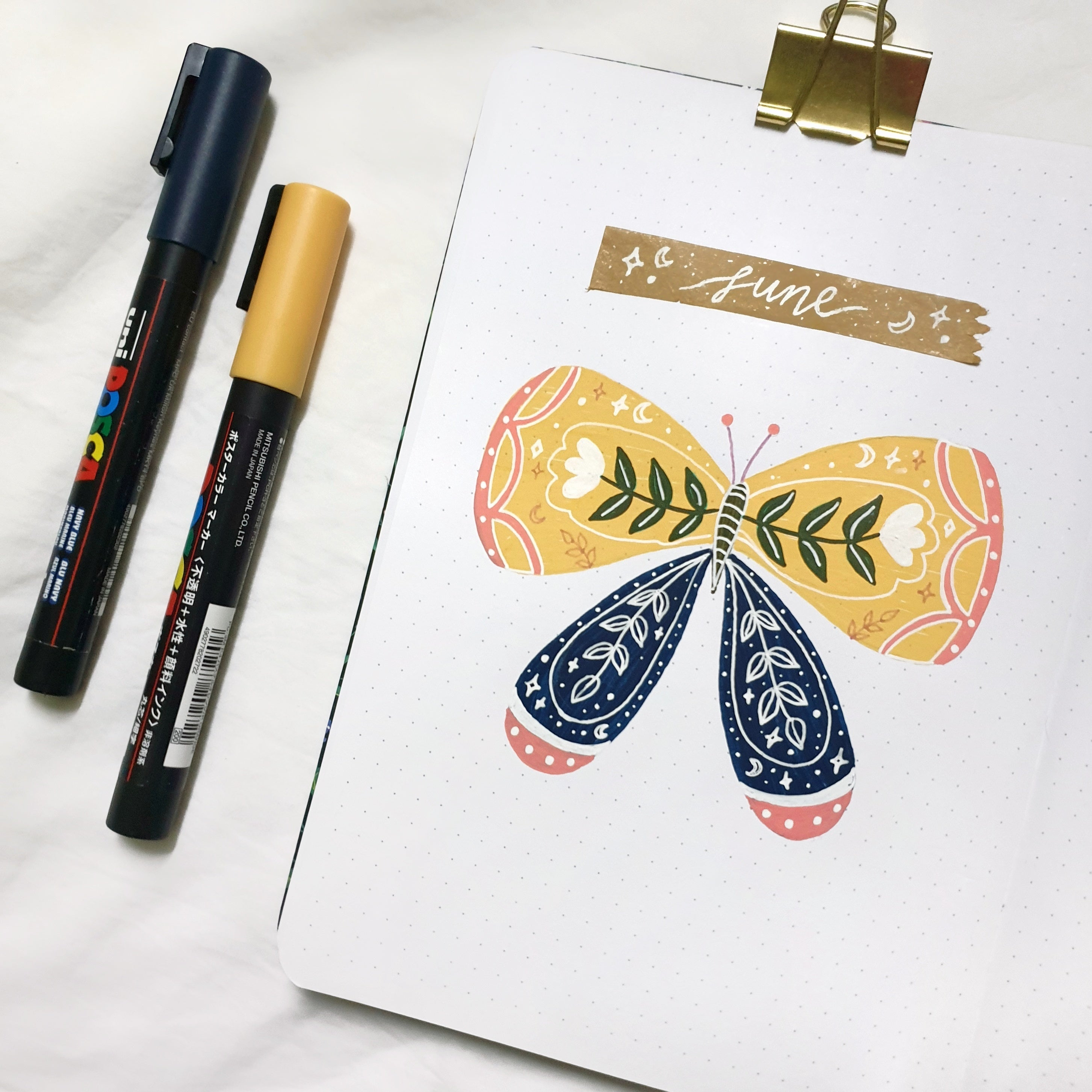 Butterfly Theme Bullet Journal