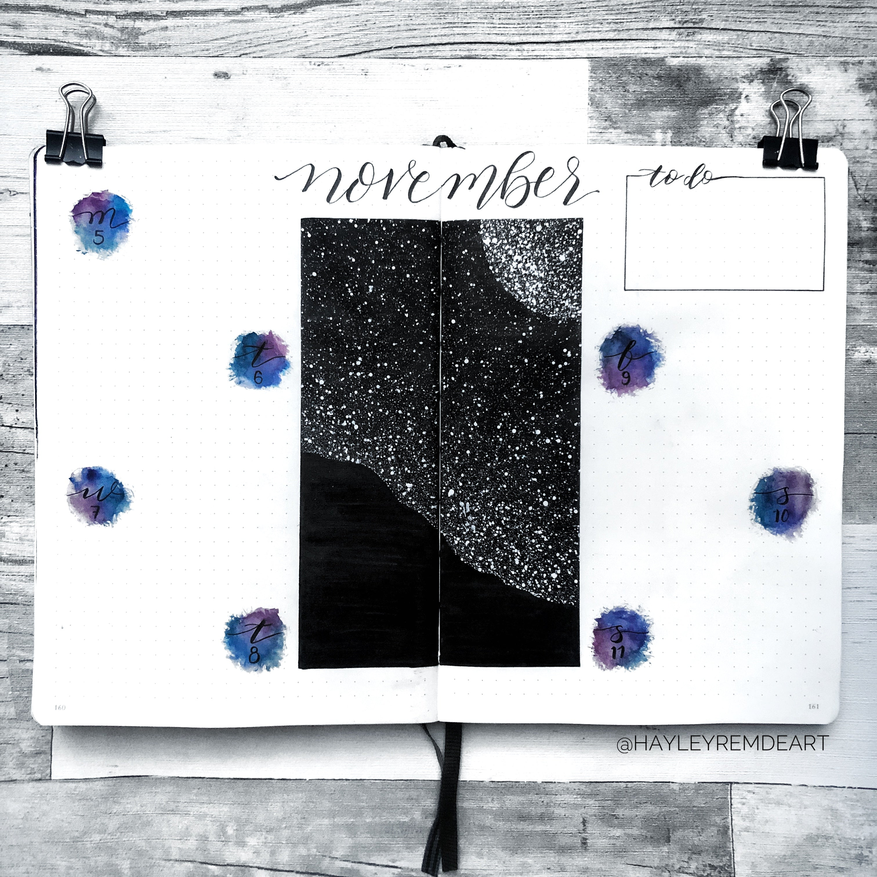 Black and White Galaxy Weekly