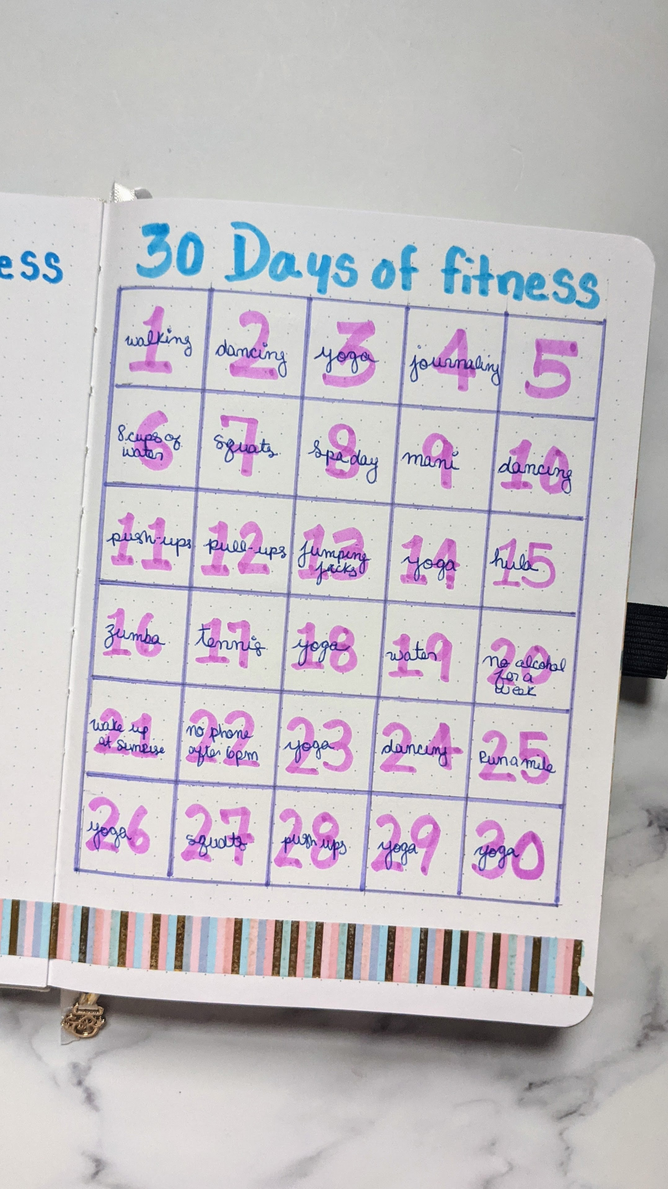 30 days of fitness