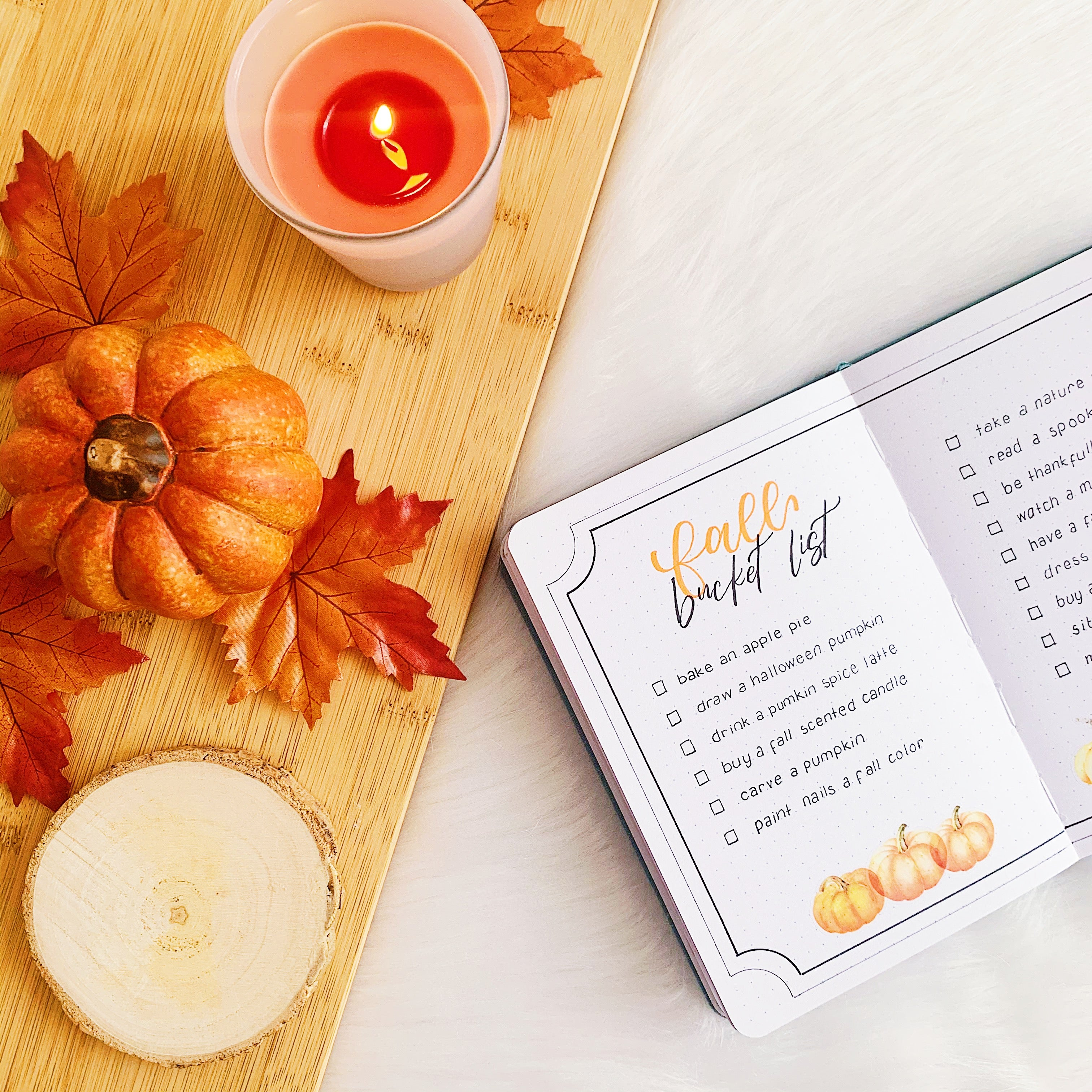 How To Create A Fall Bucket List Free Printable Archer And Olive