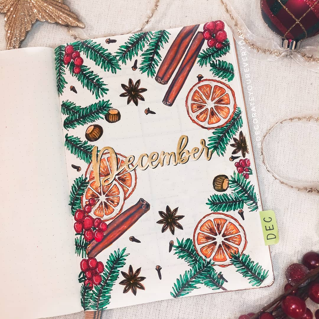 Christmas Cozy Bullet Journal