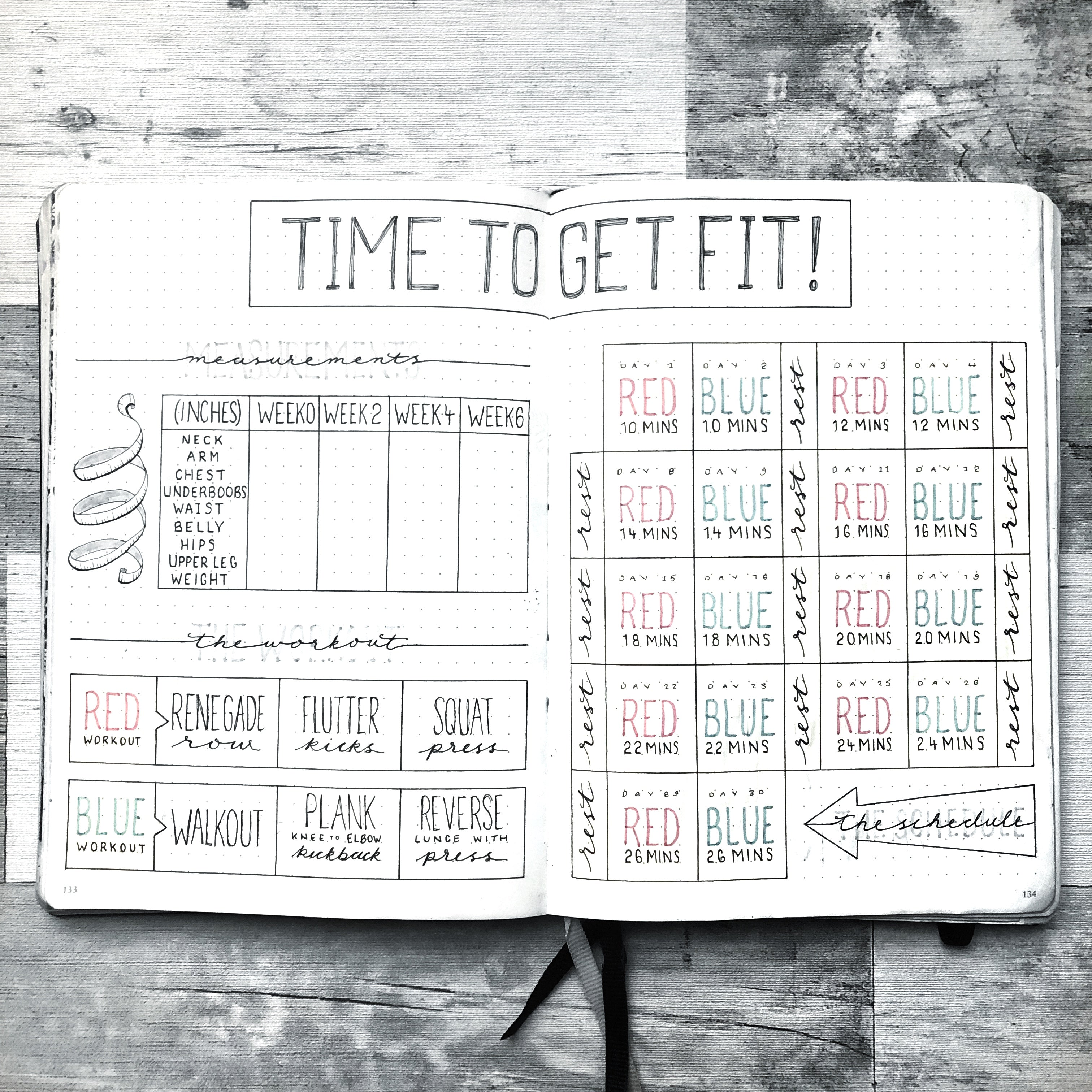 Workout Planning