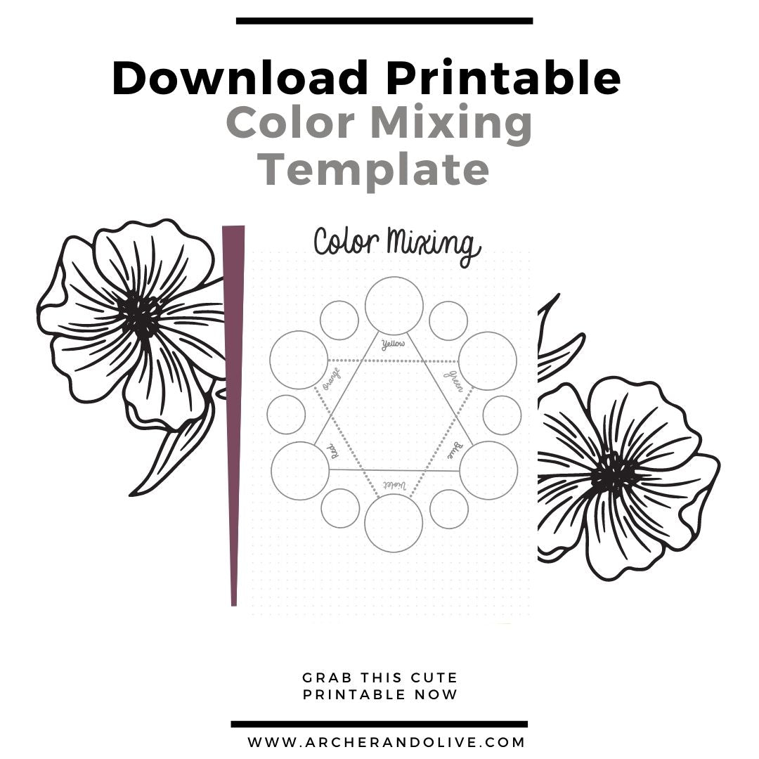 Download free color mixing chart