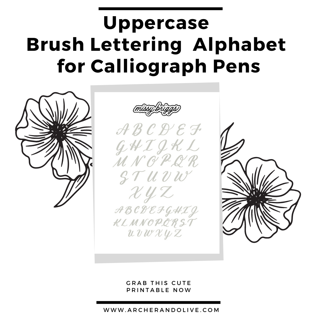 free brush lettering download