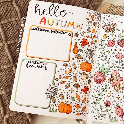 Fall doodle cover